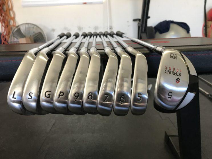 Sterling SL set including 5 hybrid