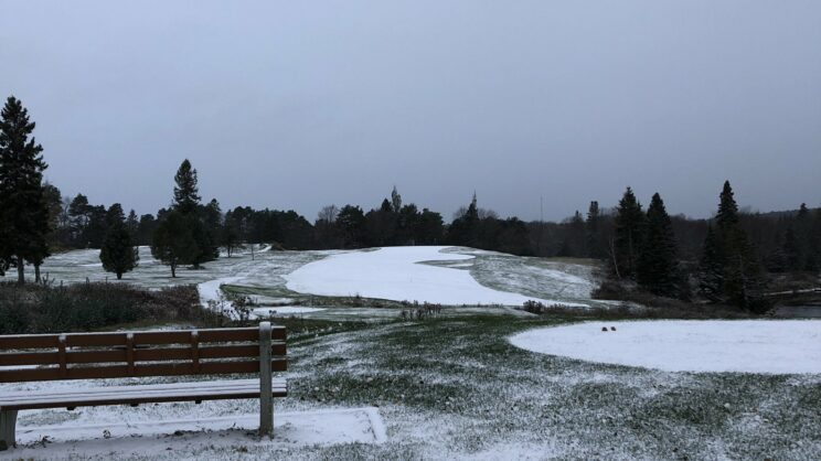 Early Snow Closed The Course For The Year #3 NBG&CC